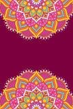 Mandala vector background. Mandala background. Vintage decorative elements in ethnic style Royalty Free Stock Photo
