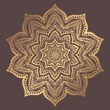 Mandala Vector Design Element Royalty-vrije Stock Foto