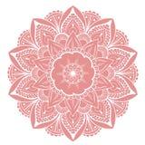 Mandala Vector Design Element Décoration ronde d'ornement Configuration de fleur [02] Motif floral stylisé complexe illustration libre de droits
