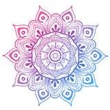 Mandala Vector Design Element Ronde ornamentdecoratie Het Patroon van de bloem [02] Gestileerd bloemenmotief complex stock illustratie