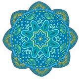 Mandala Vector Design Element Rund prydnadgarnering modell för 02 blomma Stiliserat blom- motiv komplicerat stock illustrationer