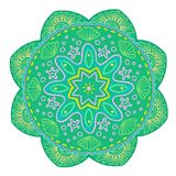Mandala Vector Design Element Rund prydnadgarnering modell för 02 blomma Stiliserat blom- motiv komplicerat royaltyfri illustrationer
