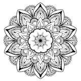 Mandala Vector Design Element Rund prydnadgarnering modell för 02 blomma Stiliserat blom- motiv komplicerat vektor illustrationer