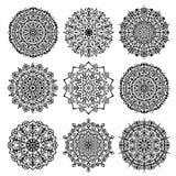 Mandala Vector Design Elements Collection illustration libre de droits