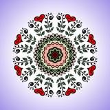 mandala Vector el ornamento, elemento decorativo redondo colorido para su diseño libre illustration