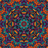 Mandala vector ethnic doodle pattern Royalty Free Stock Photos