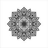 Mandala Vector Ilustration vektor illustrationer
