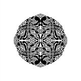 Mandala Vector Ilustration royaltyfri illustrationer