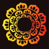 Mandala vector logo, icon illustration vector illustration