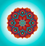 Mandala. Vector ornament, colorful round decorative element for your design Royalty Free Stock Photo