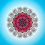 Mandala. Vector ornament, colorful round decorative element for your design Royalty Free Stock Images