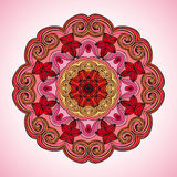 Mandala. Vector ornament, colorful round decorative element for your design Royalty Free Stock Photos