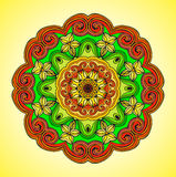 Mandala. Vector ornament, colorful round decorative element for your design Stock Photo