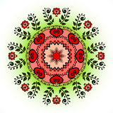 Mandala. Vector ornament, colorful round decorative element for your design Stock Image