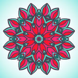 Mandala. Vector ornament, colorful round decorative element for your design Royalty Free Stock Photography