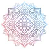 Mandala. Vector Mandala. Round ornament in ethnic style. Hand draw stock illustration