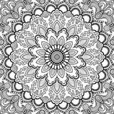 Mandala Vector tattoo. Islam, Arabic, Indian, asian motifs. Stock Images