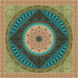 Mandala vegetale royalty illustrazione gratis
