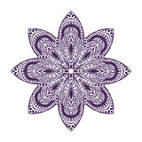 Mandala. Vintage decorative element. Oriental pattern, vector illustration Stock Photo