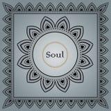Mandala. Vintage decorative elements. Vintage decorative elements. Art in oriental style Royalty Free Stock Image