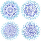 Mandala. Vintage decorative elements. Hand drawn background. Islam, Arabic, Indian, ottoman motifs. Round Ornament set. Geometric Royalty Free Stock Photo