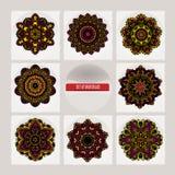 Mandala. Vintage decorative elements. Islam, Arabic, Indian, ottoman motifs. Stock Photography