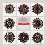 Mandala. Vintage decorative elements. Islam, Arabic, Indian, ottoman motifs. Royalty Free Stock Image