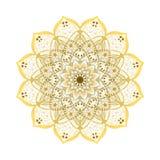 Mandala. Vintage decorative elements. Oriental pattern, vector illustration Stock Photography