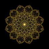Mandala. Vintage decorative elements. Oriental pattern, vector illustration Stock Images