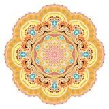 Mandala. Vintage Indian Ornament. Vector illustration, eps 10 Royalty Free Stock Images
