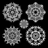 Mandala.Vintage pattern set Stock Photos