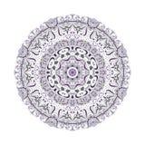 Mandala violet Photographie stock