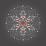 Mandala w celta stylu Obrazy Stock