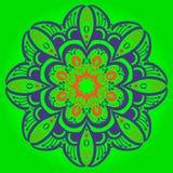 Mandala w etnicznym stylu Zdjęcia Stock
