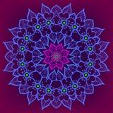 Mandala w etnicznym stylu Obrazy Stock