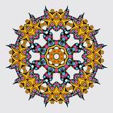 Mandala W orientała stylu również zwrócić corel ilustracji wektora Fotografia Royalty Free