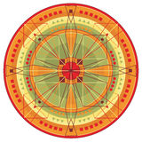 Mandala_warm Royalty Free Stock Images
