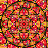 Mandala wzór Zdjęcia Stock