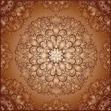 Mandala wzór w rocznika stylu Fotografia Royalty Free