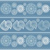 Mandala wzorów ręka malujący tło Obrazy Royalty Free