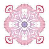 Mandala wzoru barwiony tło również zwrócić corel ilustracji wektora Medytacja element dla India joga Ornament dla dekorować a Zdjęcia Stock