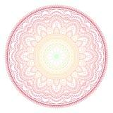 Mandala wzoru barwiony tło również zwrócić corel ilustracji wektora Medytacja element dla India joga Ornament dla dekorować a Obrazy Stock