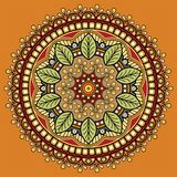 Mandala wzoru kolor Royalty Ilustracja