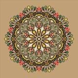 Mandala wzoru kolor Ilustracja Wektor