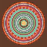 Mandaladesign Arkivfoto
