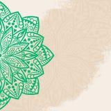 Mandalagrungebakgrund Fotografering för Bildbyråer