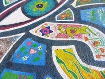 Mandalahintergrund Stockbild