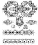 Mandalakaart Royalty-vrije Stock Foto's