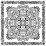 Mandalakaart Royalty-vrije Stock Foto