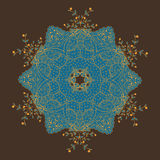 Mandalakarte stock abbildung